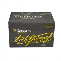 GUINNESS FOREIGN EXTRA STOUT BOTTLES BOX