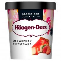 HAAGEN & DAZS STRAWBERRY CHEESECAKE  EACH