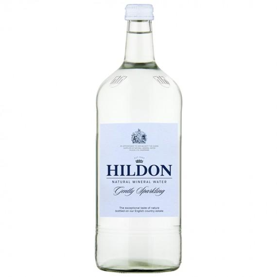 HILDON GLASS SPARKLING WATER BOX