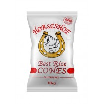 HORSESHOE RICE CONES GLUTEN FREE BOX