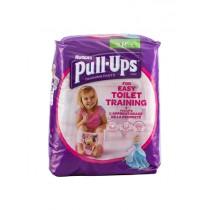 HUGGIES PULL UPS GIRLS 5/M BOX