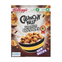 KELLOGS CRUNCHY NUT CHOCOLATE CLUSTERS BOX