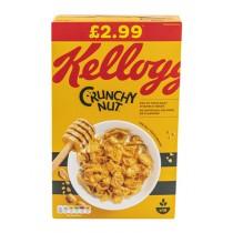 KELLOGS CRUNCHY NUT CORNFLAKES PM £2.99 EACH