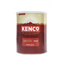 KENCO SMOOTH INSTANT COFFEE MEDIUM ROAST  BOX