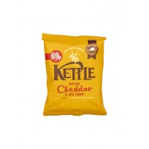 KETTLE MATURE CHEDDAR&RED ONION PM £0.69 BOX