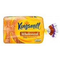 KINGSMILL WHOLEMEAL THICK SLICED BREAD EACH