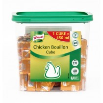 KNORR BOUILLON CUBES 60S TUB CHICKEN BOX