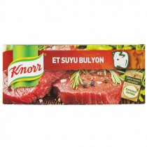 KNORR BEEF BOULLION CUBES PACK