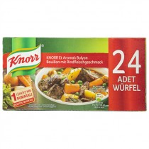 KNORR BEEF BOULLION 24'S EACH