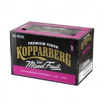 KOPPARBERG MIXED FRUIT BEER BOX