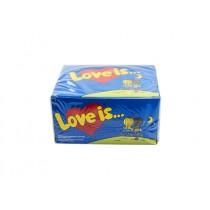 LOVE BUBBLE GUM STRAWBERRY  BANANA COCOUNT BOX
