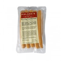 MALONE FRANKFURTERS NATURAL SMOKED  BOX
