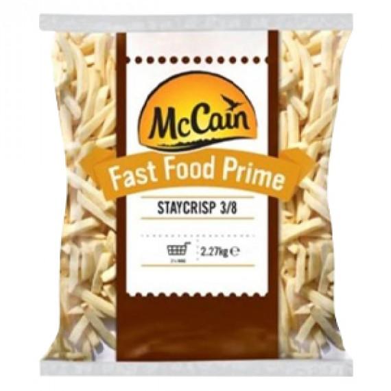 MC CAIN FASTFOOD 3/8 STAYCRISP (7651) BOX