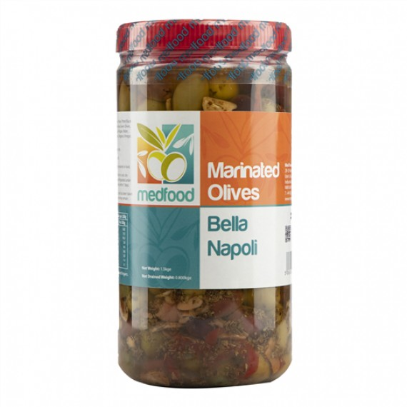 MEDFOOD MARINATED OLIVES BELLA NAPOLI EACH