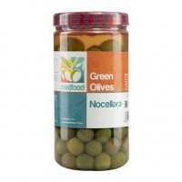 MEDFOOD GREEN OLIVES WHOLE NOCELLARA EACH