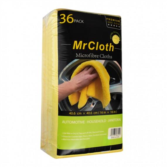 MR CLOTH MICROFIBRE TOWELS 40X40 CM PACK