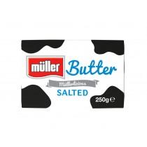 MULLER SALTED BUTTER 250G BOX