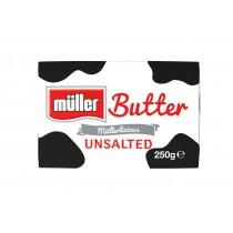 MULLER UNSALTED BUTTER 250G BOX