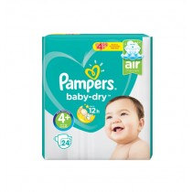 PAMPERS PAMPERS NO 4+ £4.99 PM BOX