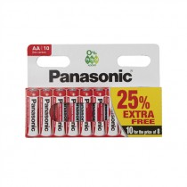 PANASONIC BATTERY R6 10PACK (PR61) BOX