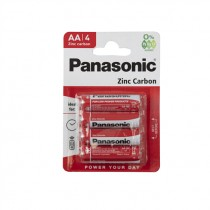 PANASONIC BATTERY R6 4PACK BOX