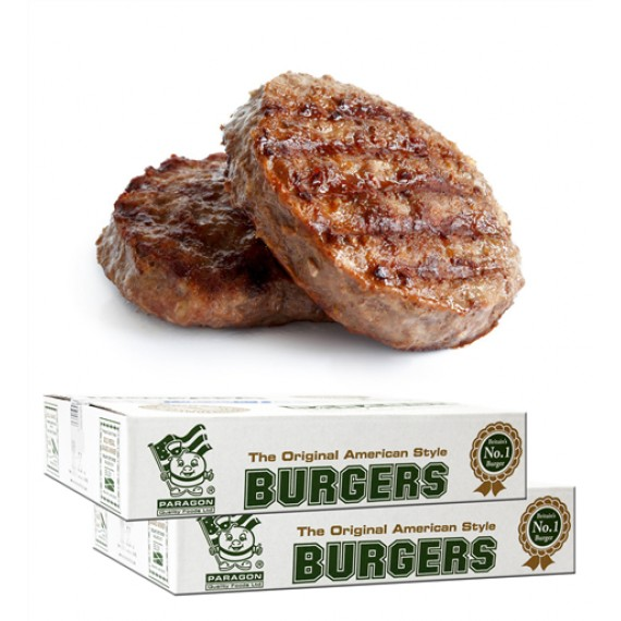PARAGON WHOLEBEEF HALAL BURGER 4oz  (WHO03) BOX