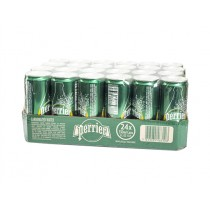 PERRIER SPARKLING WATER CAN BOX