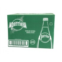 PERRIER SPARKLING WATER GLASS BOX