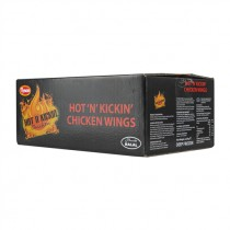 PERDIX HOT CHICKEN WINGS HALAL(TYSON)  BOX
