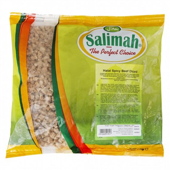 SALIMAH (SALIMAH) HALAL SPICY BEEF (DICED) EACH