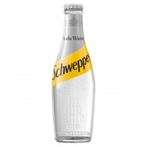 SCHWEPPES SODA WATER GLASS BOTTLE BOX