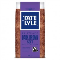TATE & LYLE DARK BROWN SOFT SUGAR EACH