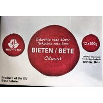 -- BEETROOT PACK 12X500g  BOX