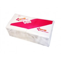 WIPE UP SOFT SINGLE PLY SERVEITTE (5000) WIPE UP 33CM  BOX